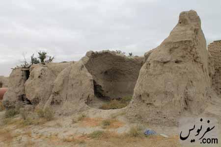 خرابه های قلعه روستای عاشقان