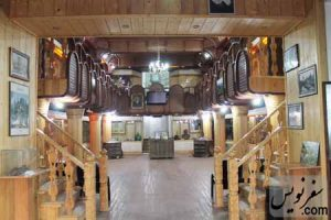 طبقه اول آرامگاه کاشف السلطنه (موزه تاریخ چای ایران)