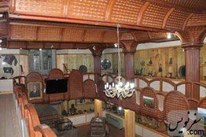 طبقه دوم آرامگاه کاشف السلطنه (موزه تاریخ چای ایران)
