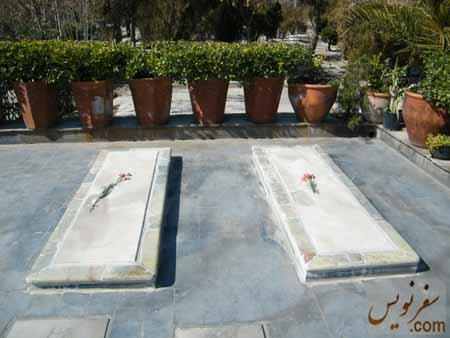 دو سنگ قبر بدون نام ...!!