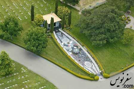 آرامگاه شاه مقصود صادق عنقا در کالیفرنیا