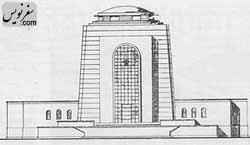 پلان و نقشه آرامگاه رضا پهلوی