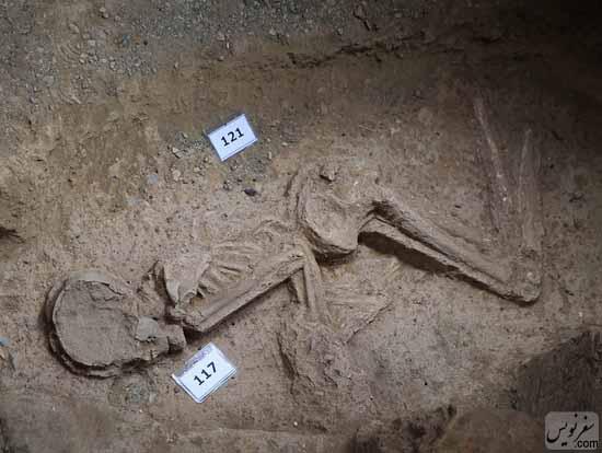 اسکلت 7000ساله تهران