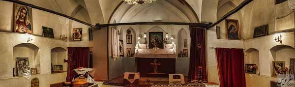 کلیسای تادئوس و بارتوقیمئوس مقدس (کهن ترین کلیسای شهر تهران)