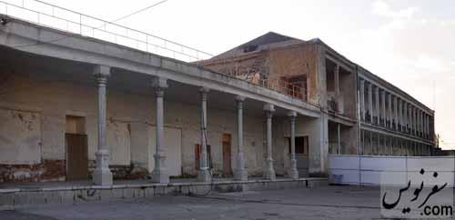 بخش جنوبی و میانی ساختمان مدرسه قصه های مجید