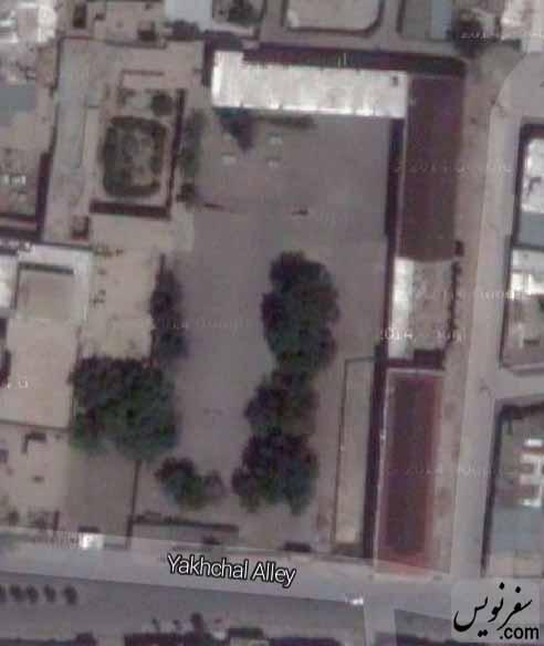 عکس هوایی مدرسه قصه های مجید
