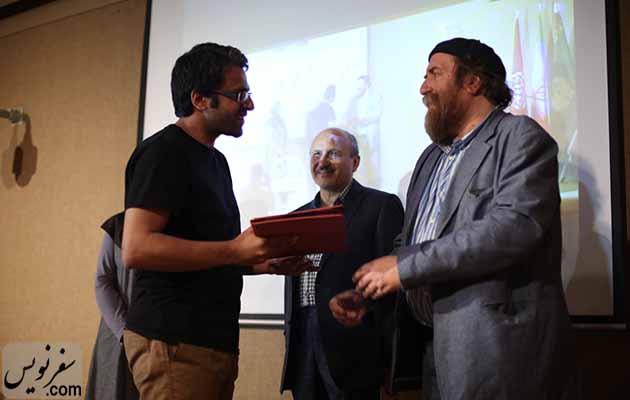 آقای علیرضا عالم نژاد برگزیده چهارمین دوره مسابقه راهنمایان موزه ملک