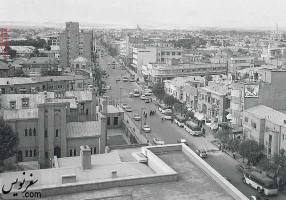 تجارتخانه جهانیان از خیابان سعدی، عکس پاکزاد