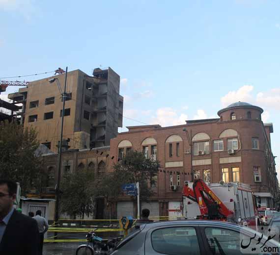 ساختمان قاجاری روزنامه اطلاعات در خطر تخریب