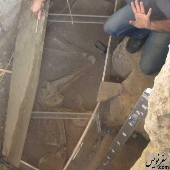 اسکلت 7000 ساله تهران ماندنی شد