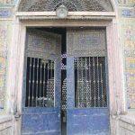 دروازه سرقت شده مسجد و حوزه سپهسالار (شهید مطهری)