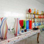 آثار و نمایشگاه کارگاه بلور شیشه
