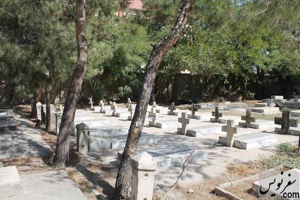 مدفونان لهستانی مهاجر، دفن شده در آرامستان مسیحیان مشهد