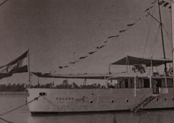 ناو پلنگ که باعث خروج انگلیسی ها از جزیره قشم و بندر باسعیدو شد