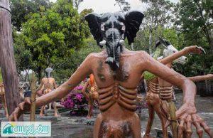 فیل نماد نابودکننده حیات وحش