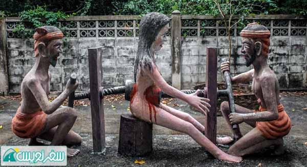 مجازات زن سقط جنین کننده در جهنم تایلند