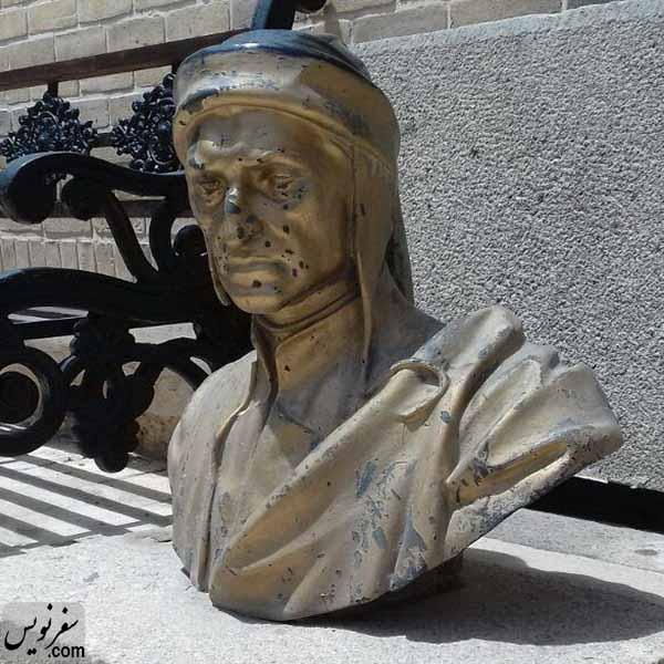 مجسمه مفقود شده دانته آلیگیری که به زودی دوباره در تهران نصب خواهد شد