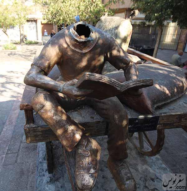 مجسمه باربر مروی، بی سر شد!َ