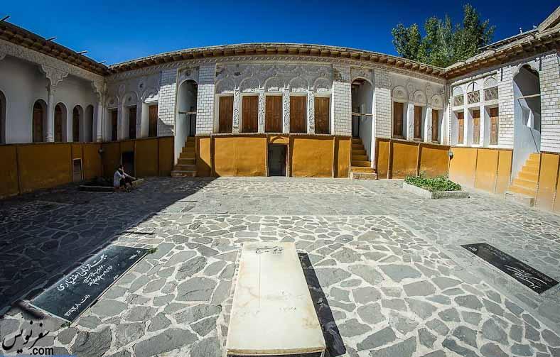 خانه نیما یوشیج در روستای یوش
