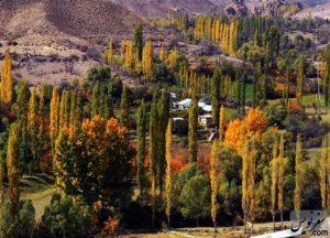 مسیر پاییزی روستای یوش