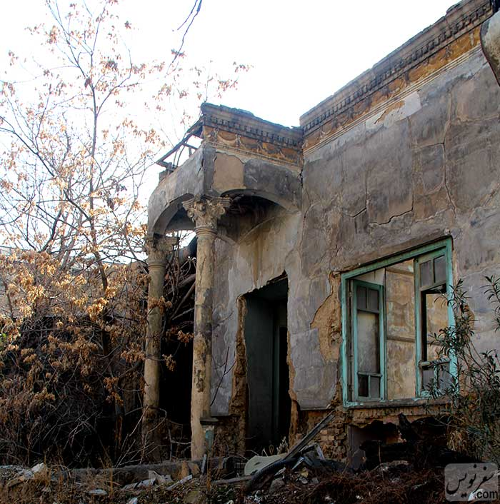 عمارت قاجاری خانه سپهبد امیراحمدی
