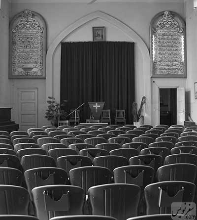 عکسی منتشر نشده از داخل کلیسای روز هفتم، ادونتیستها