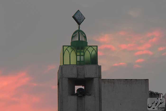 موذنه مسجد الهادی (آرامگاه سپهبد امیراحمدی)