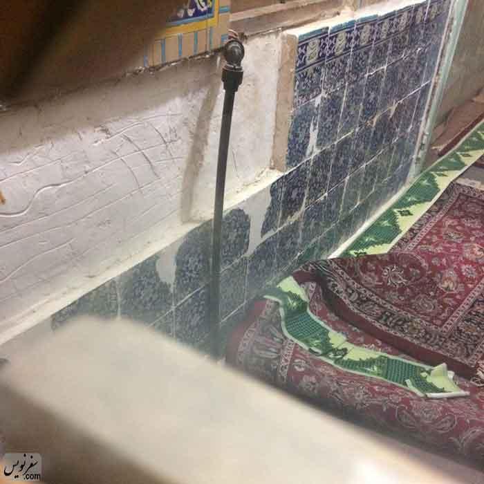 کاشی های مسجد شاه هنوز مفقودند