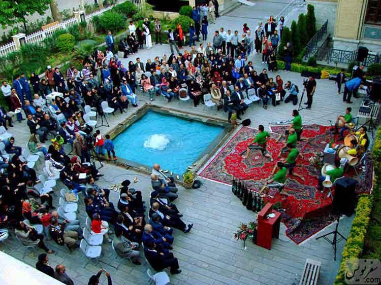 برگزاری آیین های زورخانه در موزه ملک