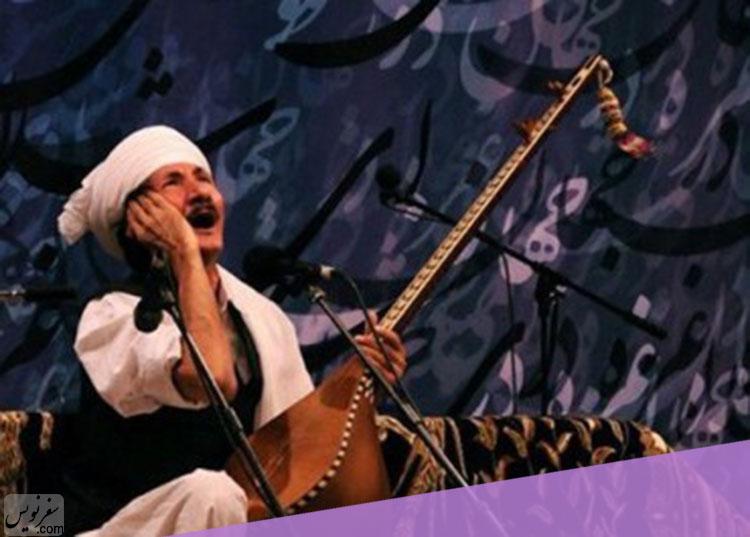 غلامعلی پورعطایی نوازنده دوتار