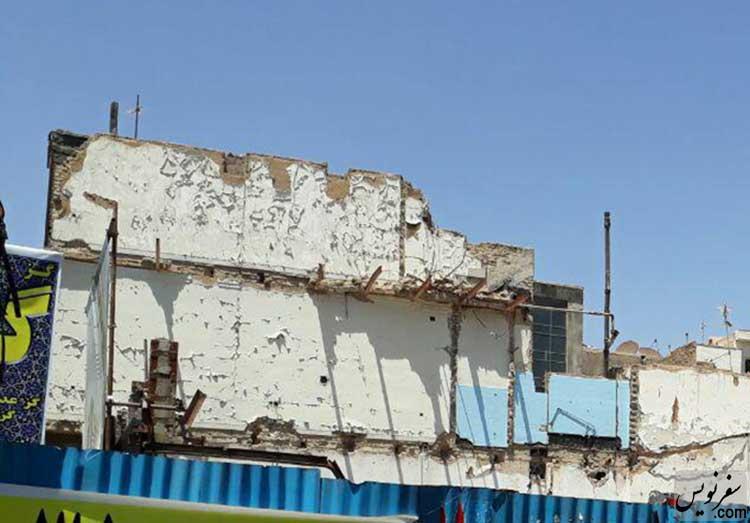 تخریب سینما الوند برای ساخت مجتمع تجاری