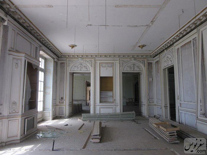 داخل یکی از اتاق های خانه ثابت معروف به کاخ ثابت پاسال
