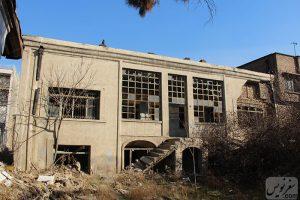 عمارت خانه امیراحمدی قبل از تخریب
