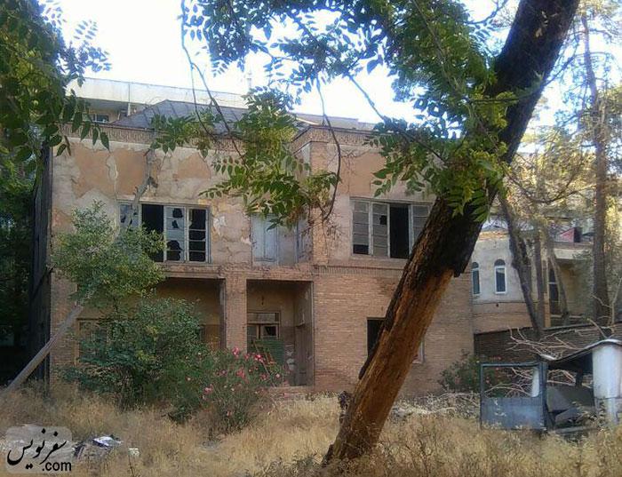 خانه بهروز وثوقی یا خانه احمد سهیلی خوانساری