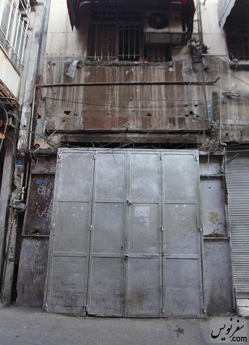 سردر سینما شهرزاد بعد از منشوری شدن