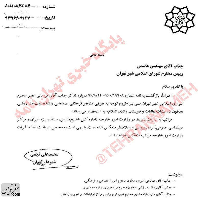 معرفی مشاهیر فرهنگی، مذهبی و ششخصیتهای ملی مدفون در آرامستانهای عراق!