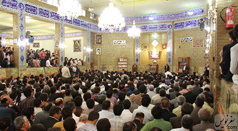 سالن اصلی حسینه امیرسلیمانی (مشیرالسلطنه)