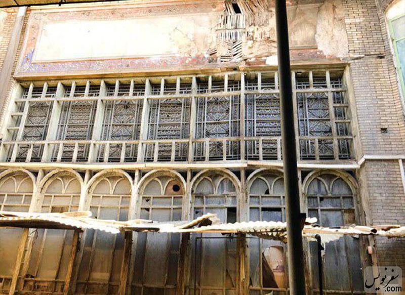خانه تاریخی خازنالملک در سرای ضیافت در خطر تخریب