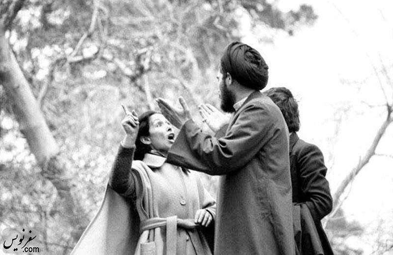 جدال شیده رحمانی در اسفند 57 درباره حجاب اجباری