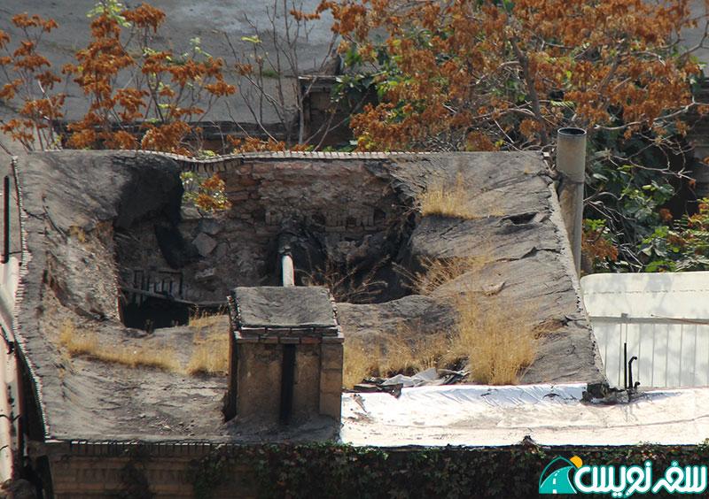 سقف خانه شیخ فضل الله نوری فرو ریخت