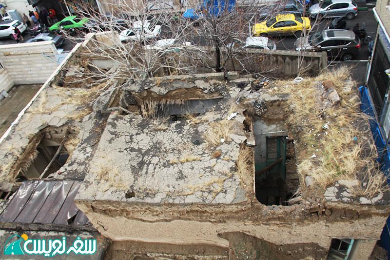 ویرانی خانه شیخ فضل الله نوری