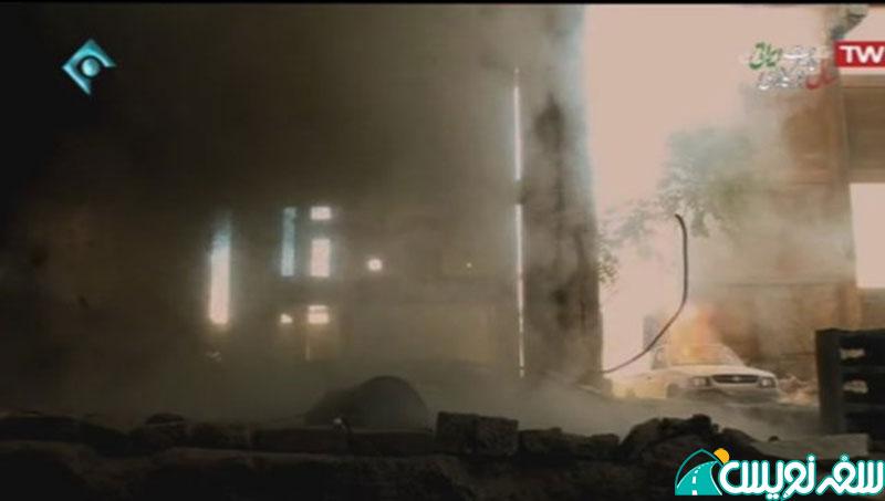 حمله داعش به کارخانه سیمان و ...