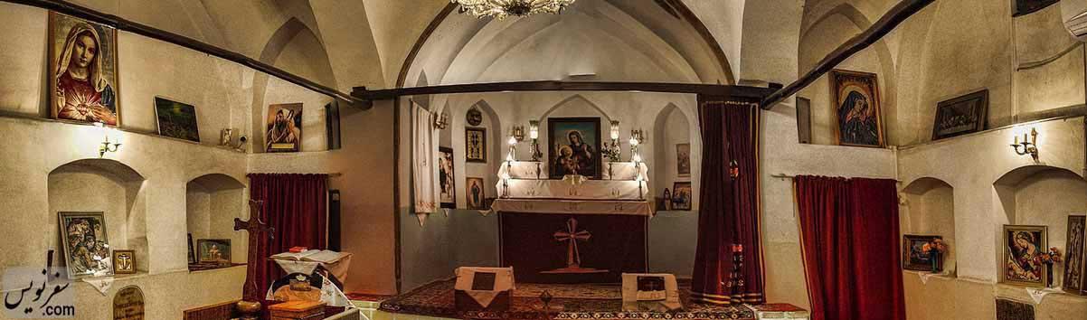 کلیسای تادئوس و بارتوقیمئوس مقدس مولوی. عکس رازی