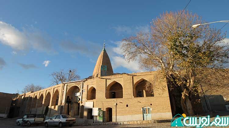 امامزاده ابوالفتوح (شرفشاه) وانشان از نوادگان امام موسی الکاظم و درخت دیرزیست آن