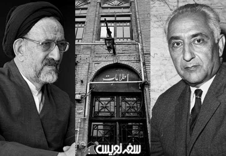 عباس مسعودی، محمود دعایی و ساختمان روزنامه اطلاعات