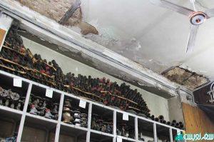 تخریب تدریجی ساختمان روزنامه اطلاعات