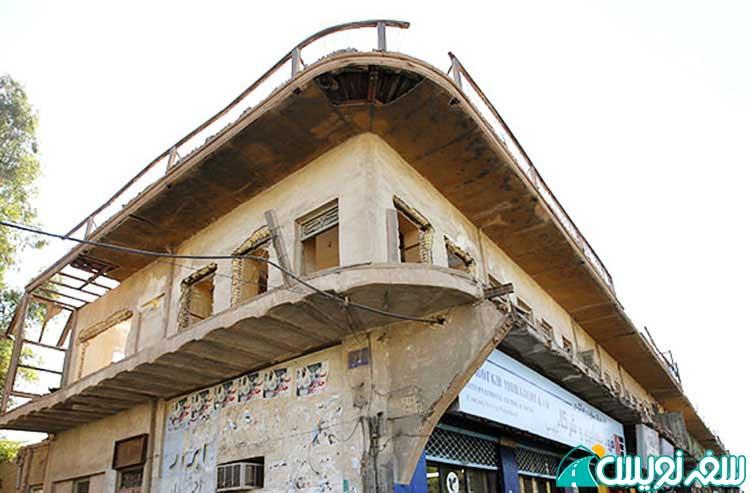 خانه پرویز شاپور همسر فروغ فرخزاد در شهر اهواز