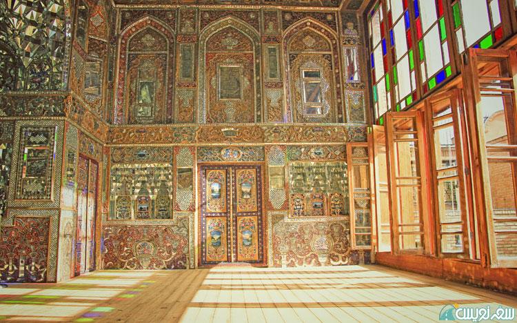 خانه سلطان بیگم (منسوب به عمه ناصرالدین شاه) عکس؛ معماری