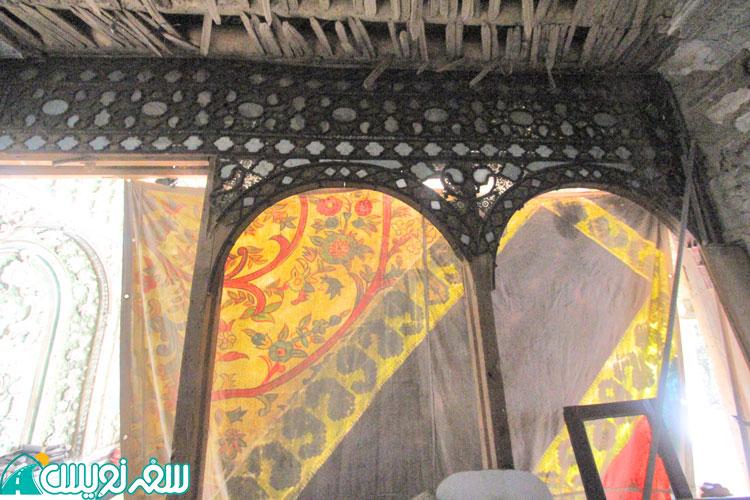 وضعیت خانه نصیرالدوله (اتاق آئینه خانه) بعد از مالکیت سازمان میراث