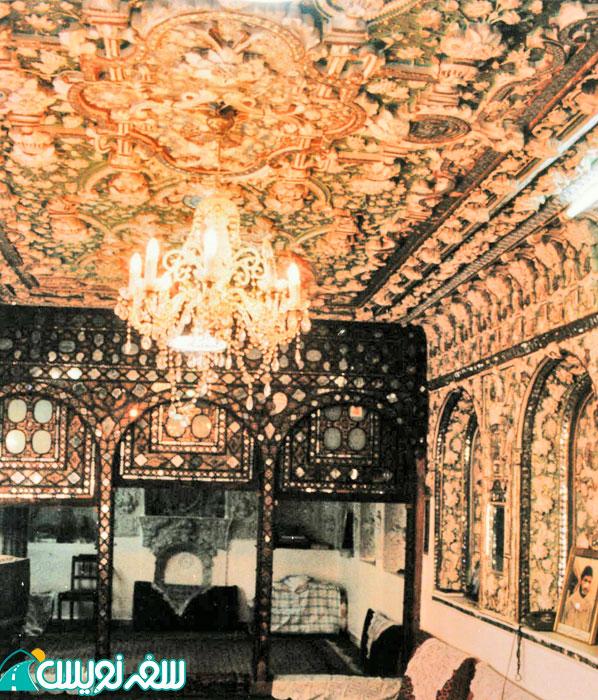 خانه نصیرالدوله (اتاق آئینه خانه) قبل از مالکیت میراث
